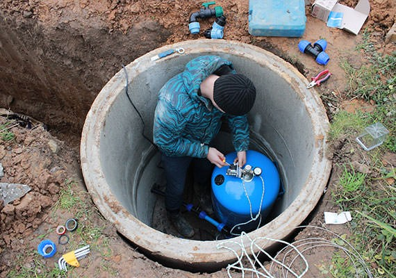 Водоснабжение из колодца в Наро-Фоминске
